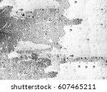 black and white grunge...   Shutterstock . vector #607465211
