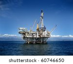 large pacific ocean offshore... | Shutterstock . vector #60746650