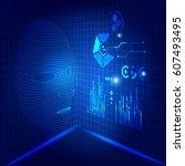 artificial intelligence. future ...   Shutterstock .eps vector #607493495