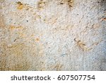 grungy wall sandstone surface... | Shutterstock . vector #607507754