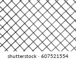 Background Of Metal Mesh  White