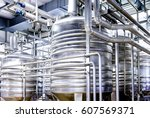 modern industry tubes - photo - closeup - stock photo