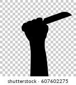 illustration for murder  at... | Shutterstock .eps vector #607602275
