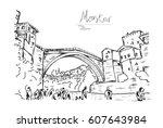 Old Bridge In The City Of...