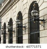 Victorian Street Lamps On The...