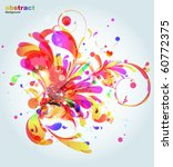 abstract background | Shutterstock .eps vector #60772375