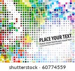 abstract mosaic background ... | Shutterstock .eps vector #60774559