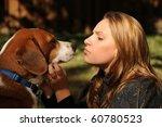 a beautiful girl enjoying a... | Shutterstock . vector #60780523