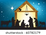 star of bethlehem. all elements ... | Shutterstock .eps vector #60782179
