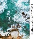 Waves Crashing In Victoria...