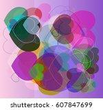 valentine texture background   Shutterstock .eps vector #607847699