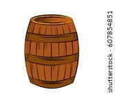 Best Wine Barrel Icon Vector...