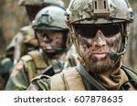norwegian armed forces special... | Shutterstock . vector #607878635
