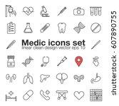 medic  medicine  health care... | Shutterstock .eps vector #607890755
