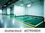 parking lot in an underground...   Shutterstock . vector #607904804