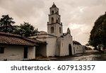 hacienda    tlca mexico | Shutterstock . vector #607913357