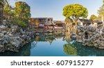lion forest garden  shiziin  in ... | Shutterstock . vector #607915277