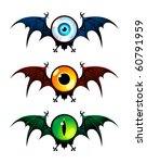 Three Flying Monsters With...