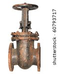 Single Very Rusted Valve Of...