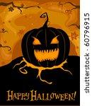 halloween themed design... | Shutterstock .eps vector #60796915
