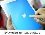 chiang mai thailand   march 25...   Shutterstock . vector #607990679