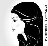 vector illustration of the...   Shutterstock .eps vector #607992125