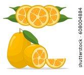 abstract vector illustration... | Shutterstock .eps vector #608004884