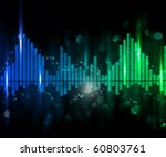 abstract background simulating... | Shutterstock . vector #60803761