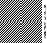 vector seamless pattern.... | Shutterstock .eps vector #608058305