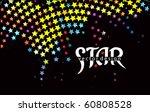 star pattern design for text... | Shutterstock .eps vector #60808528