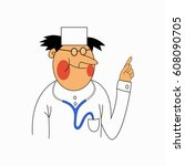 vector doctor | Shutterstock .eps vector #608090705