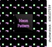 pattern game | Shutterstock .eps vector #608107559