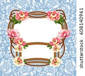 Vector Floral Decorative On...