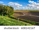 agriculture field landscape | Shutterstock . vector #608142167