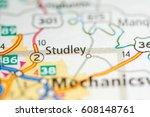 studley. virginia. usa | Shutterstock . vector #608148761