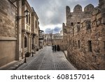 Empty Street In Old City Of...