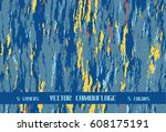 sea blue camouflage | Shutterstock .eps vector #608175191