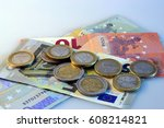 saving and investing money | Shutterstock . vector #608214821