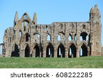 Whitby Abbey At Whitby North...