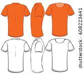 t shirt | Shutterstock .eps vector #608223641