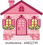 house | Shutterstock .eps vector #60822739