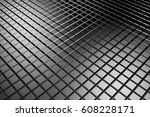 abstract background of tile... | Shutterstock . vector #608228171