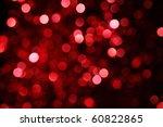 Abstract Christmas Lights As...