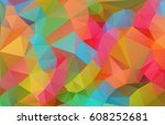 background with abstract... | Shutterstock .eps vector #608252681