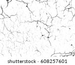 distressed overlay texture of... | Shutterstock .eps vector #608257601