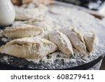 baking cakes | Shutterstock . vector #608279411