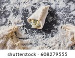 baking cakes | Shutterstock . vector #608279555