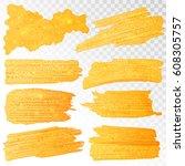 illustration of shiny glamorous ... | Shutterstock .eps vector #608305757