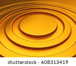 elegant golden metallic... | Shutterstock . vector #608313419