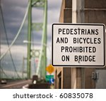 traffic sign on the tacoma... | Shutterstock . vector #60835078